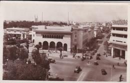 MAROC---CASABLANCA---le Carrefour De La Poste--garage Voiture CITROËN----voir 2 Scans - Casablanca