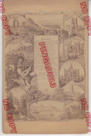 Format Cabinet 1890 Rheinlied Nikolaus Becker Rolandseck Siebengebirge Chanson Du Rhin Allemagne - Foto