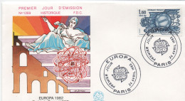 FDC :   Traité De Rome De 1957     75 Paris  24.04.1982  Y-T 2207 - FDC