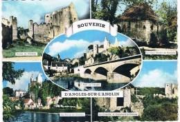 ANGLES Sur L'ANGLIN . 86 . Multivue 5 Photos . - Frankrijk