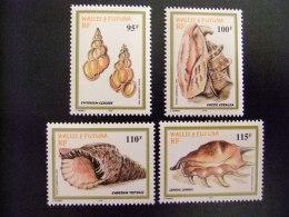 WALLIS Y FUTUNA WALLIS Et FUTUNA 1999 FAUNE OQUILLAGES DU LAGON Yvert & Tellier Nº PA 209 / 212 ** MNH - Wallis Y Futuna