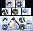 ROSS DEPENDENCY 2014  - Penguins Of Antarctica, Set Of 5v & Minisheet** - Ross Dependency (New Zealand)