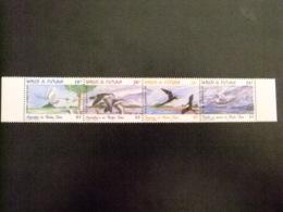 WALLIS Y FUTUNA WALLIS Et FUTUNA 1999 FAUNE  OISEAUX Yvert & Tellier Nº PA 214 / 217 ** MNH - Wallis Y Futuna