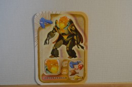 Carte Spinning Monsters N° 71 En Relief - Trading Cards