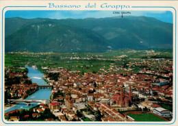 BASSANO  DEL  GRAPPA (VI)   PANORAMA  AEREO        (NUOVA) - Italia