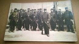 GROUPE DE MILITAIRE  CACHET  99° REGIMENT TERRITORIAL CLERMOND FERRAND  MOBILISATION - Weltkrieg 1914-18