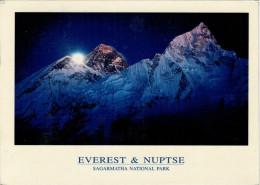 KATHMANDU    EVEREST  &  NUPTSE    MONT RISE         (VIAGGIATA) - Nepal
