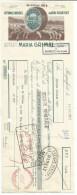 TRAITE MARIA GRIMAL AFFINAGE DE FROMAGE DE ROQUEFORT (AVEYRON) 1957 - 1950 - ...