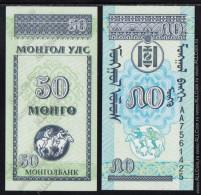 Mongolia - 50 Mengo 1993 UNC - Mongolia