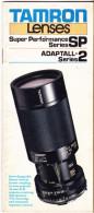 CATALOGO TAMRON - ANNI '80 - Materiale & Accessori