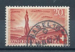 Suisse  N°379 Fête Nationale - Oblitérés