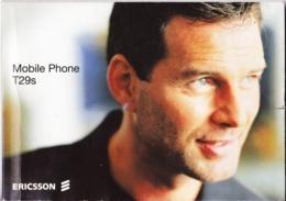 MANUALE USO - ERICSSON T29S - Telefonia