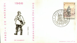 C.O.B. 1367 Journée Du Timbre. Facteur Rural (1852) D´après J. Thiriar - FDC
