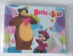 (SC 86) MINI BLOCK NOTES DI MASHA E L' ORSO - Kinder & Diddl
