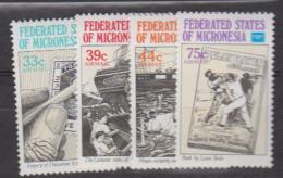 MICRONESIE      1986       PA   N.      18 / 21          COTE         7 , 00     EUROS        ( 542 ) - Micronésie