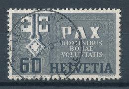 Suisse  N°411  PAX (Paix) - Oblitérés