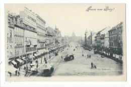 14247 - Gruss Aus Prag  Der Wenzelsplatz - Tchéquie