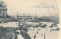BRUXELLES / BRUSSEL / 75 ANNIVERSAIRE DE L INDEPENDANCE / ARRIVEE  COMBATTANTS 1830 - Fiestas, Celebraciones