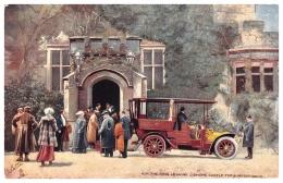 King Edward VII Leaving Lismore Castle, Cork For A Motor Drive - Tuck No. 9017 - Cork