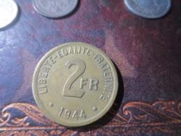 2 Francs TYPE FRANCE LIBRE -1944- SUP   VOIR PHOTOS - I. 2 Francs