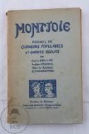 Antique 1930's French Boy Scouts Montjoie Songs Book/ Chants Scouts - Libros, Revistas, Cómics