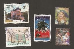 Haiti Used 5 Sellos - Haiti