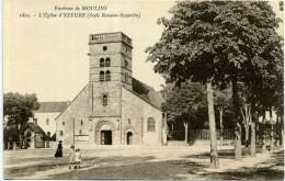 03 - Yzeure ; L'église. - France
