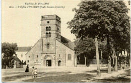 03 - Yzeure ; L'église. - Francia