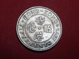 HONG KONG  50 CENTS  1971  KM  34 - Hong Kong