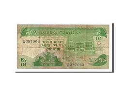Ile Maurice, 10 Rupees Type 1985-91 - Maurice