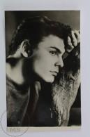 Vintage Real Photograph Postcard Movie Actor: John Saxon - Actores