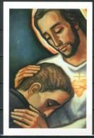 Santino - Consacrazione Al Cuore Di Gesu' -  Santino Con Preghiera Come Da Scansione. - Images Religieuses