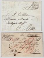 """"""" OEDENBURG """" 2 Briefe , #4947 - Austria"""