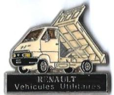 RENAULT - R12 - VEHICULES UTILITAIRES - CAMION BENNE - Verso : SM - Renault