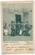Tripoli De Barbarie Groupe De Negresses Voyagé En Fevrier 1902 - Libye