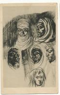 Romano Dazzi Arabi Serie Africa Te Teneo Mostra Rivoluzione Fascista III Fiera Tripoli 1929 Fascisme - Libye