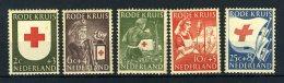 NEDERLAND 607/611 MNH** 1953 - Rode Kruiszegels - 1949-1980 (Juliana)