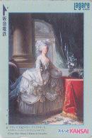 Carte Japon - PEINTURE FRANCE - MANAI - MARIE ANTOINETTE - Japan Painting Prepaid Card / Austria - KUNST Karte - 1445 - Malerei
