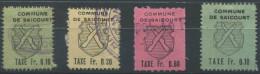 1380 - SAICOURT Fiskalmarken - Steuermarken