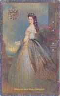 Télécarte Japon Bord Argent - PEINTURE AUTRICHE - SISSI - Elisabeth Japan Painting Phonecard / Austria - KUNST TK- 1448 - Malerei