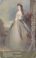 Télécarte Japon - PEINTURE & HISTOIRE AUTRICHE - SISSI - Elisabeth Japan Painting Phonecard / Austria - KUNST TK- 1449 - Malerei