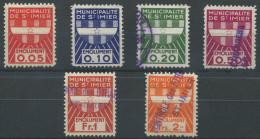 1382 - ST. IMIER Fiskalmarken - Fiscaux