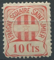 1383 - ST. IMIER Fiskalmarke - Steuermarken