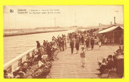 * Oostende - Ostende - Ostend (Kust - Littoral) * (Nels, Série 13, Nr 68) Estacade, Havendam, Pier, Rade, Animée, Café - Oostende