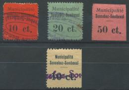 1388 - SONCEBOZ-SOMBEVAL Fiskalmarken - Fiscaux