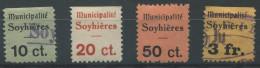 1389 - SOYHIÈRES Fiskalmarken - Fiscaux