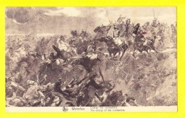 * Waterloo (Waals Brabant - Bruxelles) * (Nels, Ern Thill) Charge Des Cuirassiers, Dessin, Cheval, Horse, Paard - Waterloo