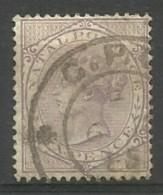 Natal - 1874 Queen Victoria 6d Pale  Lilac  Used  Sc 54 - Afrique Du Sud (...-1961)