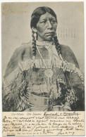 Ow-Wuts Ute Squaw 1904 New York Judaica Invité Par Madame Roschild Pour Voir Rejane Au Theatre - Indiani Dell'America Del Nord