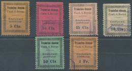 1395 - TRAMELAN Fiskalmarken - Steuermarken